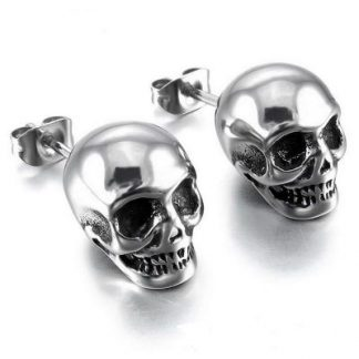 Skull Earrings for Men